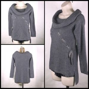 NWT ohMG COWL NECK SWEATER